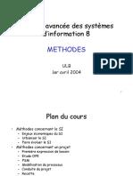théorie avancée des systèmes d'information