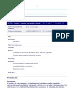 Plan Docente_Gestión y usos del patrimonio cultural