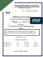 Valorisation des huiles de friture usagées en biodiesel par la réaction de transesterification.pdf
