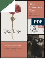 Yale University Press Art and Architecture 2011 Catalog