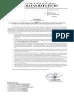 Surat Edaran Pencegahan Penyebaran Covid 19 Oke