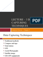 4. Lecture 3 - Data Capturing Techniques - Total Station and GPS