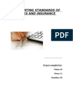 Accounting Standards of Banks and Insurance