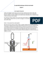 Bac - Épreuve de spécialité physique-chimie - sujet et corrigé n°1