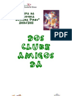 Regulamento Do Clube de Amigos Da Bibloteca