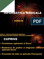 Curs 9 - Informatică medicală și biostatistică