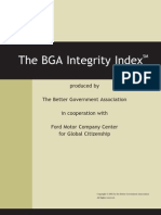 BGA Integrity Index