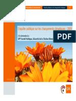 Enquête publique sur le climat (2009)