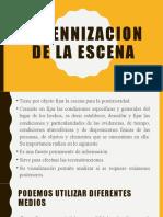 PERENNIZACION DE LA ESCENA