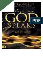 101 Prophetic Ways God Speaks - Hakeem Collins-Spanish