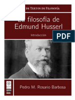 LA FILOSOFIA DE HUSSLER
