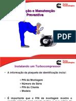 ch3 Instalação e manutenção Turbocompressor