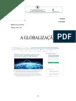 Geografia C - a globalização