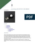 Non‐contact Liquid Level Sensor