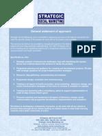 Strategic Social Marketing service offer