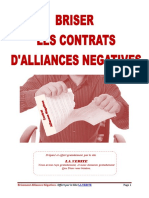 Briser les contrats d'alliances négatives°10