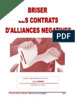 Briser les contrats d'alliances négatives°10