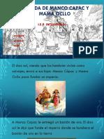 LEYENDA DE MANCO CAPAC Y MAMA OCLLO.pdf