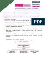Ficha 2 Exp 2 Comunicación Sexto Grado - Nov 2020