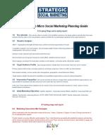 STELa© 4 Step Micro Social Marketing Planning Guide