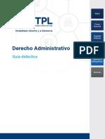Deerecho administrativo UTPL