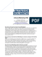 A Social Marketing FAQ