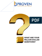 Million Dollar FAQs