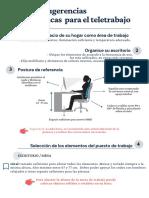 Guía de sugerencias ergonómicas para el teletrabajo - Alumnas, Morelli,  Solari. Docente,  Paula Frontini