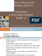4-CONSUMER CREDIT (PART 1) (Introduction to Consumer Credit)