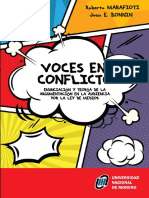 Voces-en-conflicto. Enunciación y teoría de la argumentación en la audiencia de la ley de medios