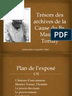Conférence de Jean-Pierre Voutaz sur le Bienheureux Maurice Tornay