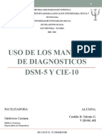 USO DE LOS MANUALES DE DIAGNOSTICO DMS-5 Y CIE-10.pptx