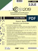 Ensino médio – Matemática e suas tecnologias (ledor) – Aplicação regular.pdf