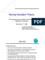 NASA presentation on Normal Accident Theory