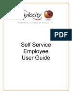 Self Service Employee User Guide 1