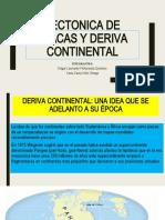 TECTONICA DE PLACAS Y DERIVA CONTINENTAL 2