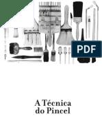 A técnica do pincel