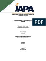 Metodología de la Investigación  II - Roberto Soto - 22-05-20-Tarea 2