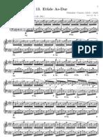 Etude Op25 No.1