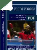 Libro Manual ITTF Para Entrenadores Nivel 1 (Tenis de Mesa)