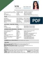 lynn favin - sag-aftra resume 2020