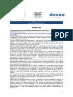 Noticias 10 de febrero RWI - DESCO