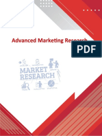 Outline - Advanced Marketing Research-5 days