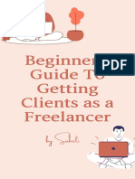 Beginners Guide To Freelancing by kiren