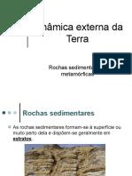 Rochas e paisagens sedimentares e metamórficas
