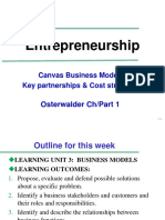 Entrep-Week07 - Session 2 CANVAS Key Parts Costs