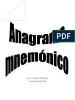 Anagrama mnemonico - version Woody