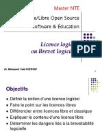 Ch03- Licences Logiciel Libre