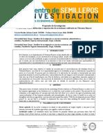 Formato Investigación propuesta de investigación PI