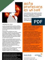taller 2º CICLO INFANTIL Y CICLO INICIAL PRIMARIA cas